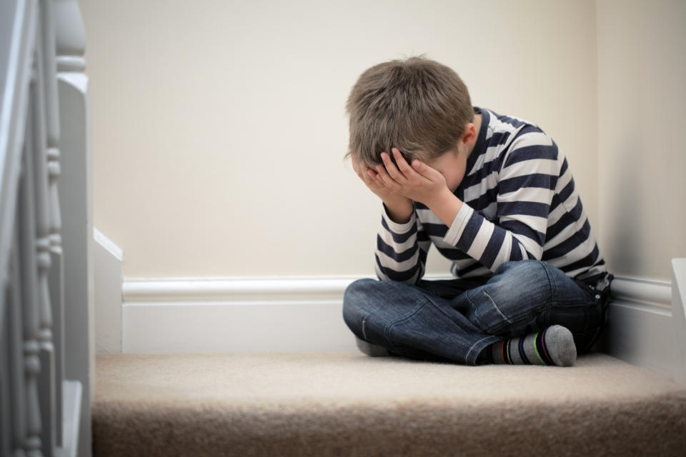 Should we ban the 'naughty step' as a way of disciplining children? [Photo: Getty]