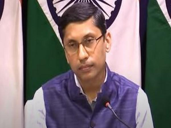 MEA spokesperson Arindam Bagchi during his weekly press briefing on Thursday.