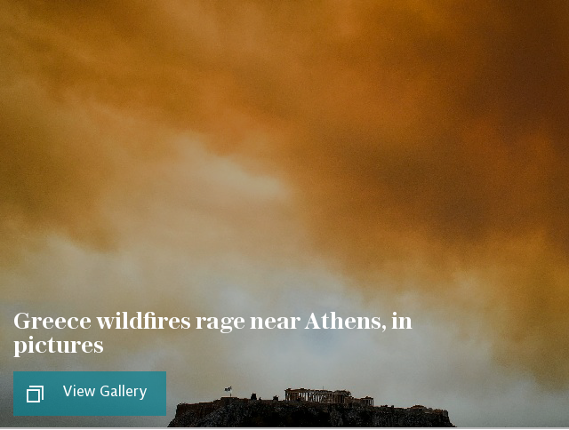 Greece wildfires gallery puff
