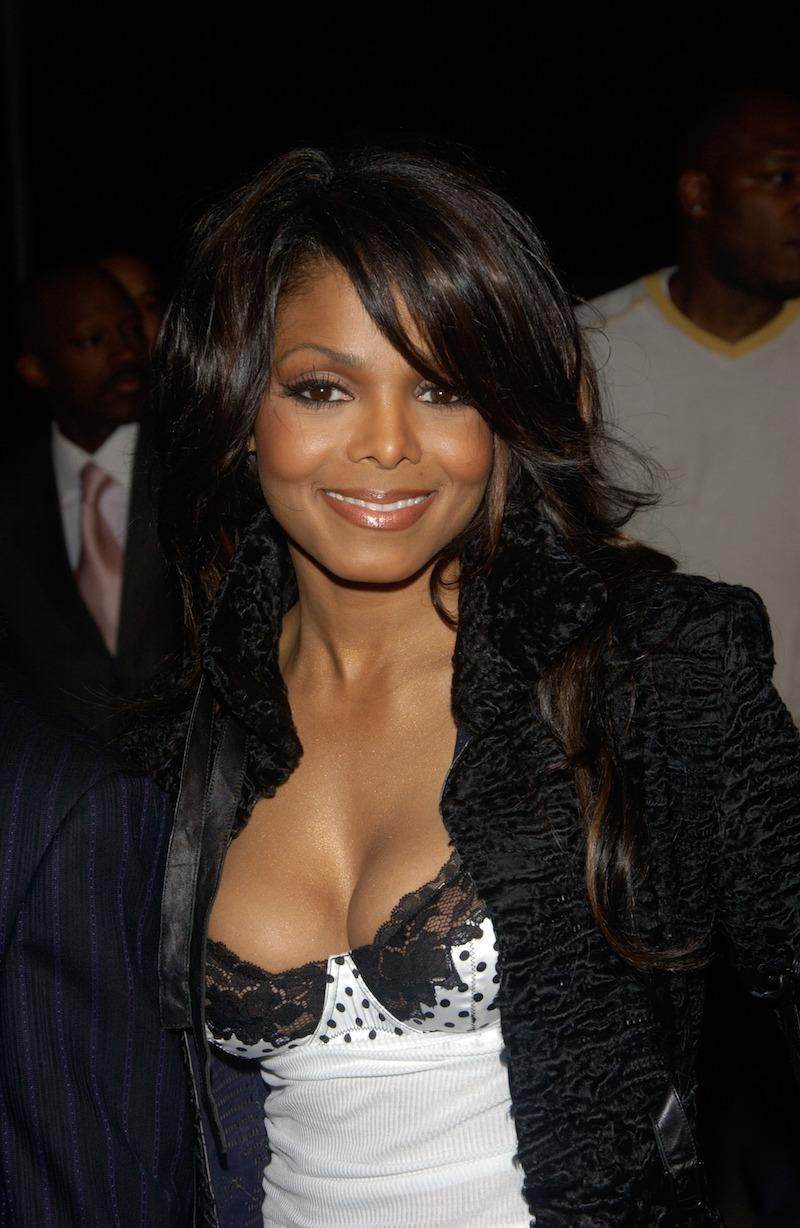 Pop star JANET JACKSON at A Night with Janet Damita Jo Jackson - a party to celebrate the career achievements of Janet Jackson - at Mortons Restaurant, West Hollywood, CA. March 20, 2004