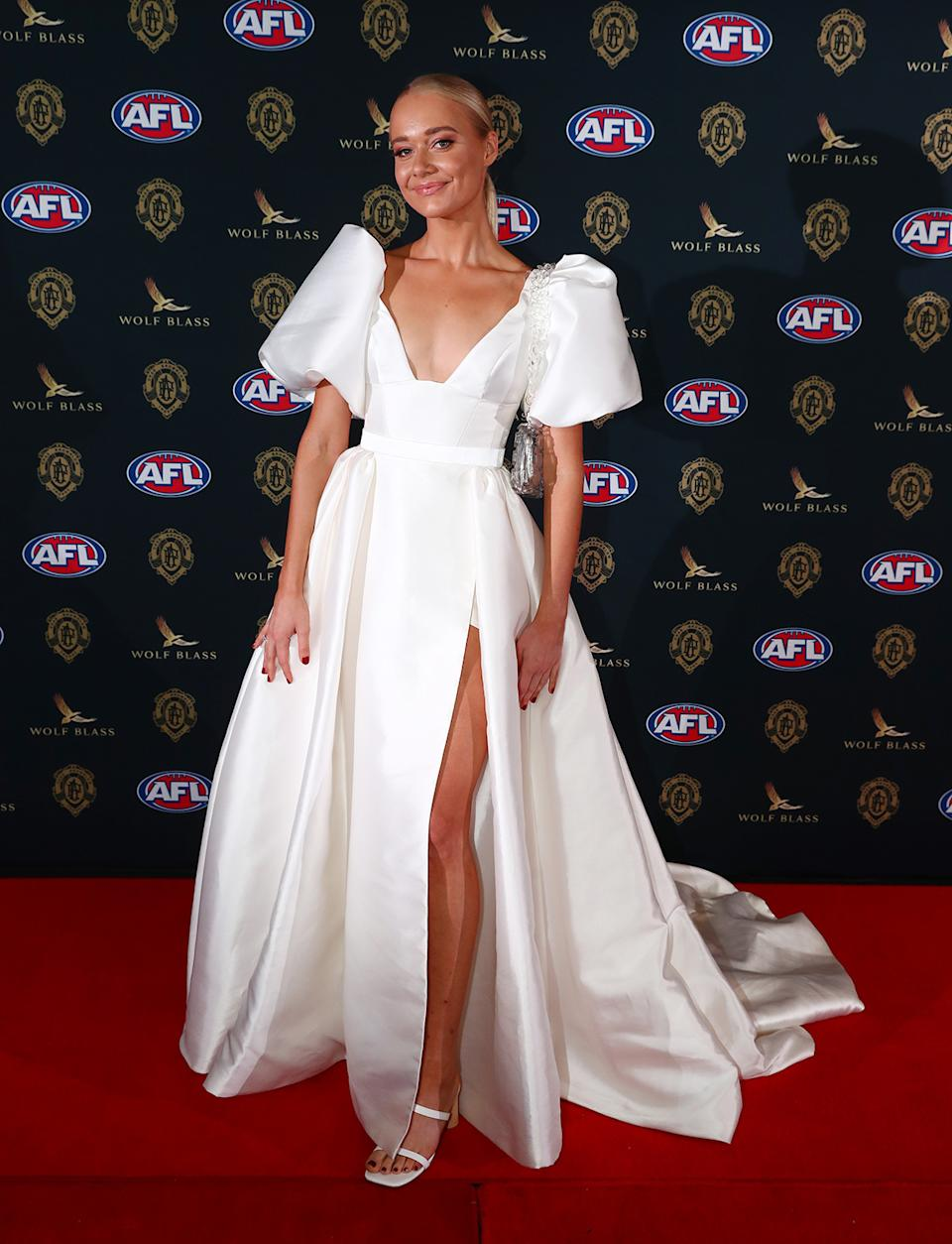 Georgia Mitchell at the Brownlow Medal Awards 2021