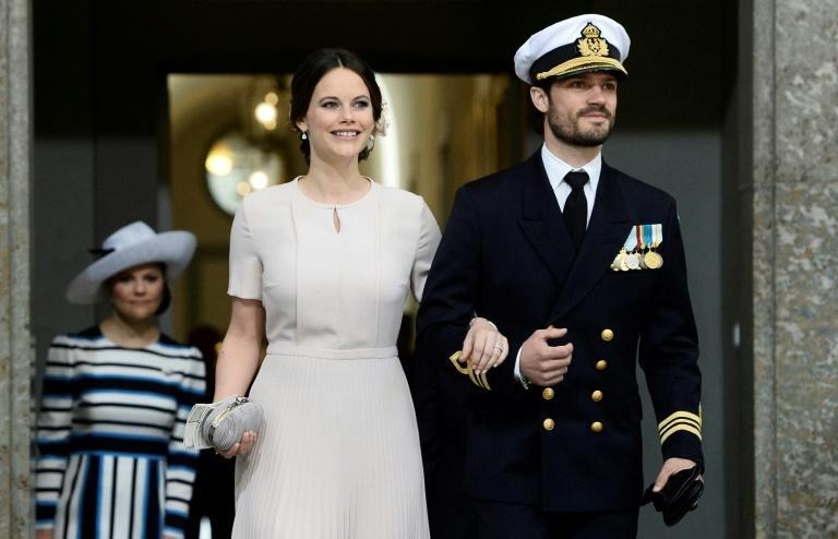Sweden's Prince Carl Philip and his wife Princess Sofia are in self-isolation after testing positive for Covid-19