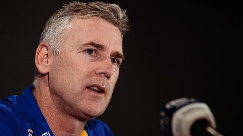 West Coast coach Adam Simpson has hinted the Eagles could train without their quarantined players