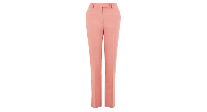 Mia Slim Cotton Ankle Grazer Trousers