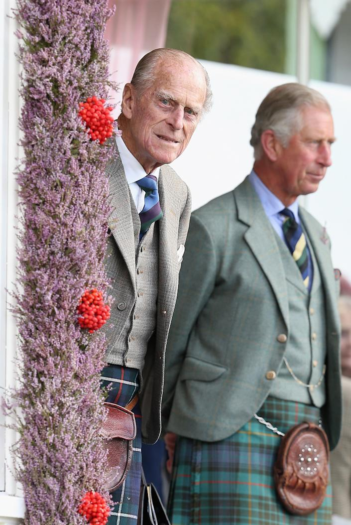 Charles, Prince of Wales, honored his late father Prince Philip, Duke of Edinburgh in a moving speech. (Photo: Chris Jackson/Getty Images)