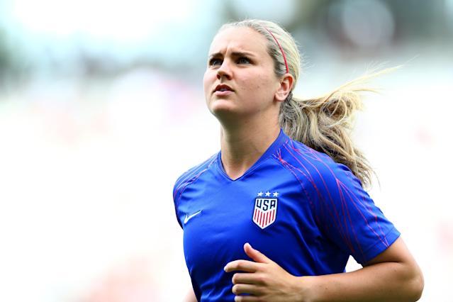 Lindsey Horan didn't start for the United States, which left people scratching their heads. (Getty)
