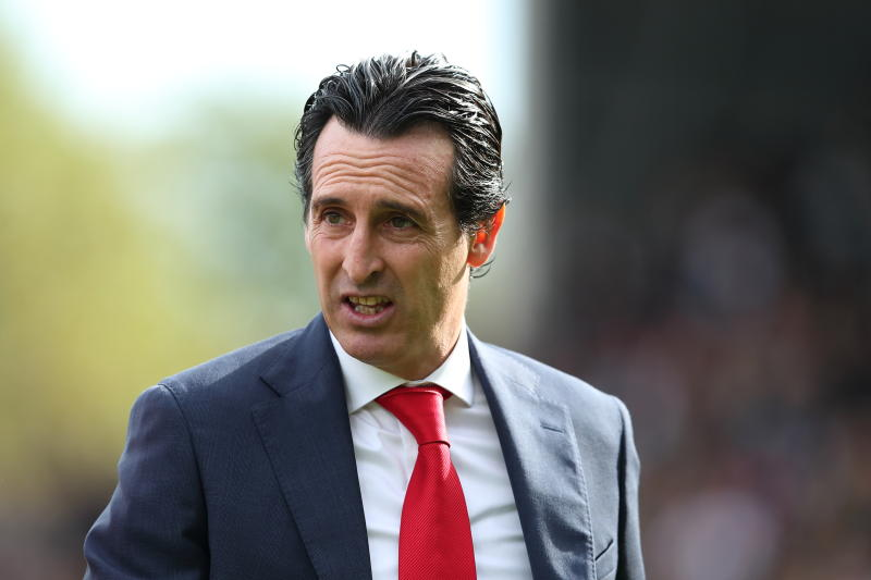 Arsenal manager Unai