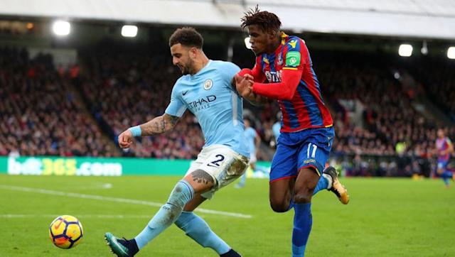 "<p>Unless you're a Spurs fan, you'll be happy to admit that Kyle Walker's transfer to City last summer was the best thing that could have happened to the 27-year-old full back. </p> <br><p>Walker already has one trophy this year and looks set for more. To give him an extra boost, the defender <a href=""https://www.football.london/tottenham-hotspur-fc/players/weirdest-most-wonderful-tottenham-hotspur-12934897"" rel=""nofollow noopener"" target=""_blank"" data-ylk=""slk:kisses his bracelet twice"" class=""link rapid-noclick-resp"">kisses his bracelet twice</a> before taking it off before every match.</p>"