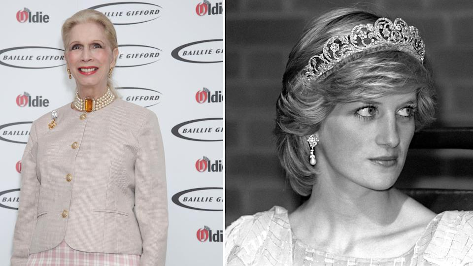 Lady Colin Campbell made some shocking allegations against Princess Diana. (PA)