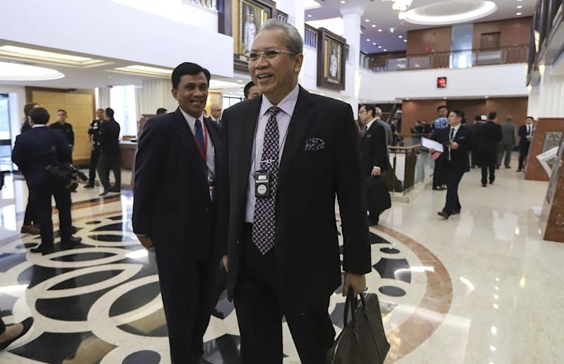 Annuar said the party was open to engagement with the four parties that make up the PH coalition including PKR, DAP, Amanah and Bersatu. — Picture by Azneal Ishak