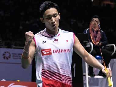 Singapore Open 2019: Kento Momota rallies to down Anthony Sinisuka Ginting; Tai Tzu Ying breezes past Nozomi Okuhara