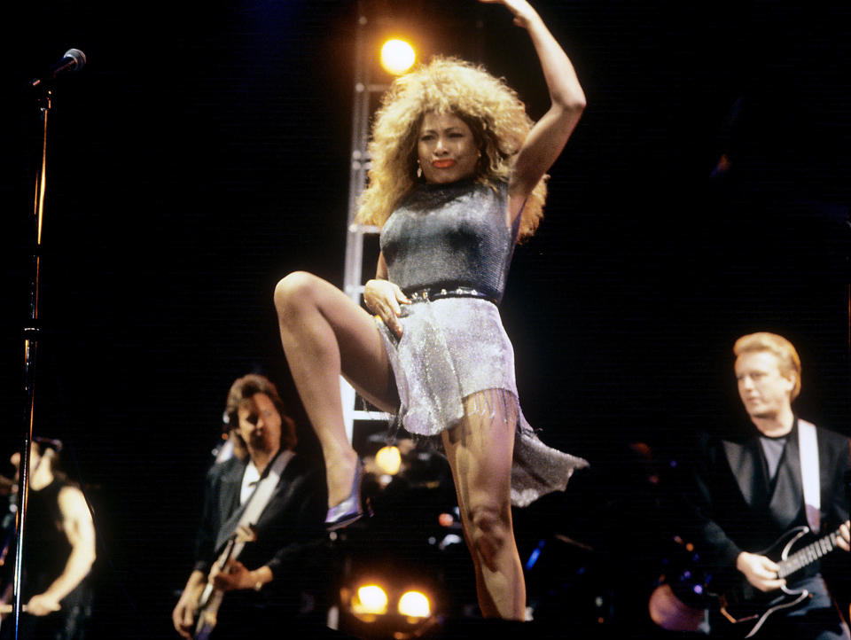 Tina Turner - Credit: Fryderyk Gabowicz/picture-alliance/dpa/AP Images