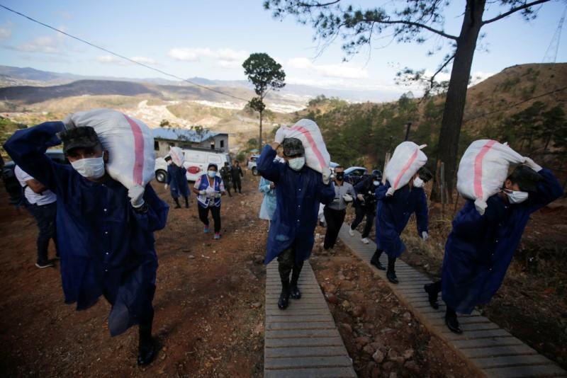 Honduran government delivers food to 3.2 million people amid coronavirus lockdown