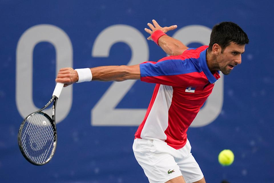 Tokyo Olympics Tennis (Copyright 2021 The Associated Press. All rights reserved)