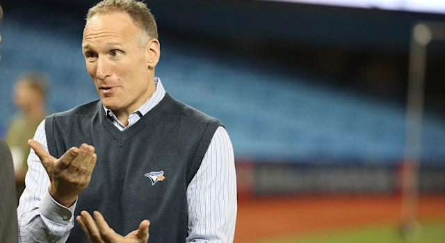 Mark Shapiro really wants you to know that he got rid of Milton Bradley. (Steve Russell/Toronto Star via Getty Images)