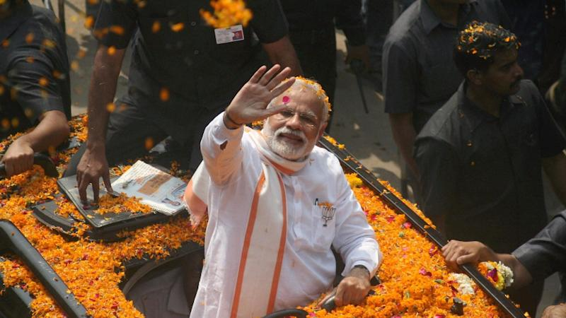 Congress Complains to EC over PM's Varanasi Roadshow, Seeks FIR