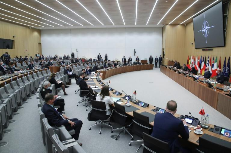 NATO foreign ministers meet for a two day summit with all eyes on Washington's decision over Afghanistan