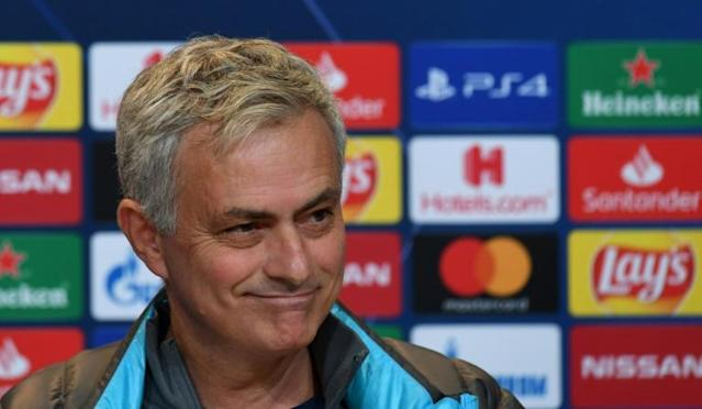 Tottenham Hotspur's Portuguese head coach Jose Mourinho will use the Champions League game at Bayern Munich on Wednesday to give fringe members of his squad a chance. (AFP Photo/Christof STACHE)