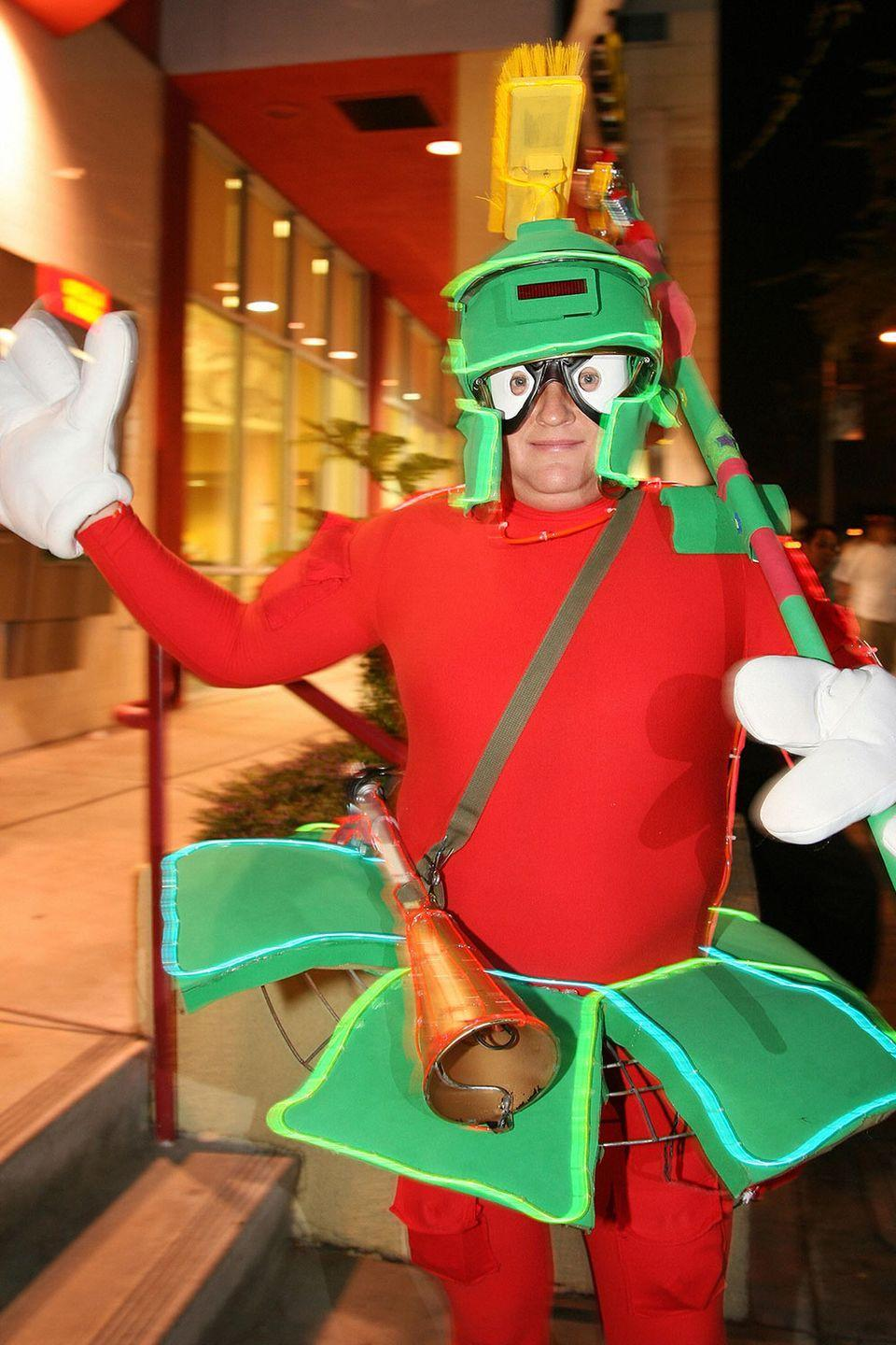 <p>Marvin the Martian is a classic <em>Looney Tunes </em>character and a quality costume choice.</p>