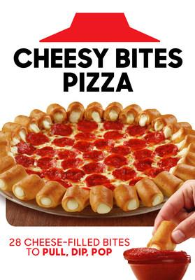 Cheesy Bites Pizza is back! Pull, dip and pop all summer long with the iconic appetizer-and-pizza-in-one from Pizza Hut, now available nationwide for a limited time.