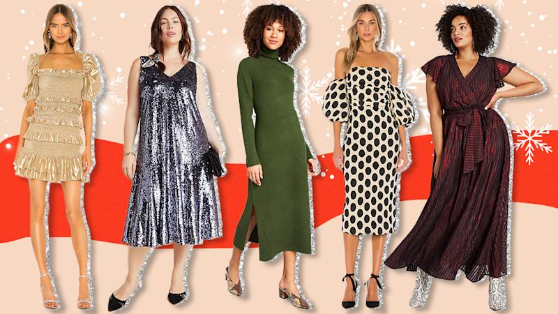 19 Stunning Holiday Party Dresses That Will Steal the Show This Season