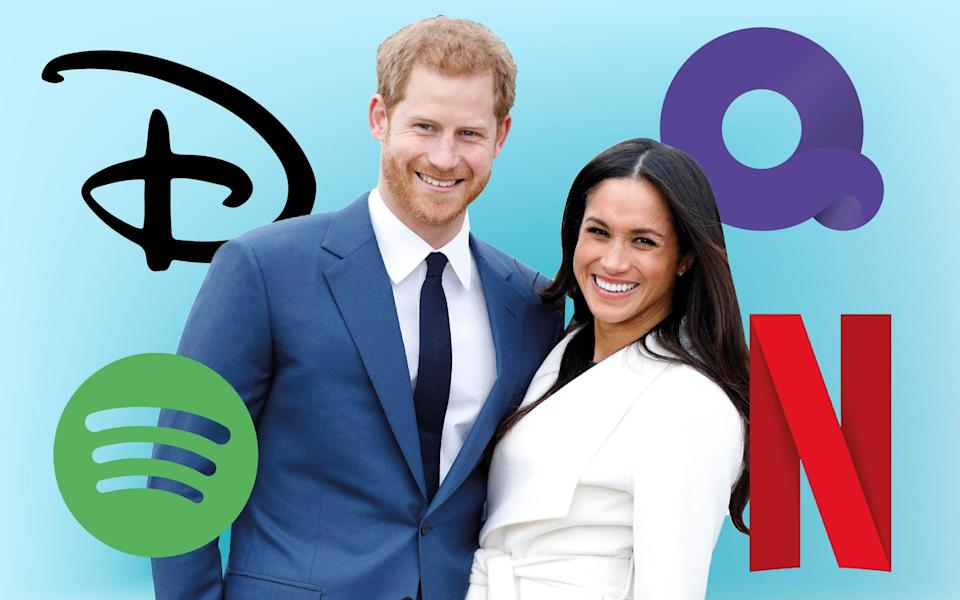The discussions are understood to have led to tensions with Palace staff, fearful the Sussexes would be accused of 'cashing in' on their status, and because the couple were predominantly consulting Meghan's US-based team of advisers. - TMG