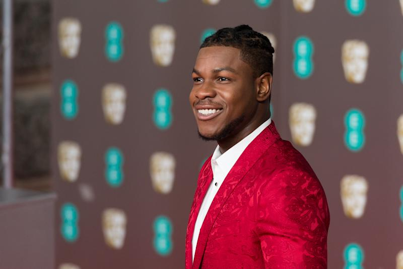 John Boyega attends the EE British Academy Film Awards ceremony at the Royal Albert Hall on 02 February, 2020. (Photo by WIktor Szymanowicz/NurPhoto via Getty Images)