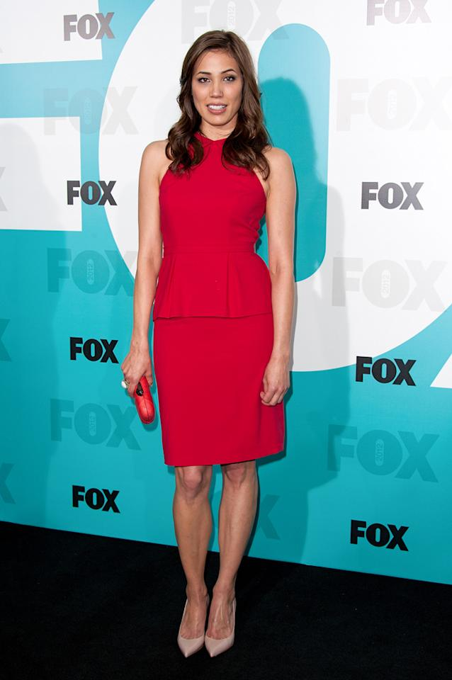 "Michaela Conlin (""Bones"") attends the Fox 2012 Upfronts Post-Show Party on May 14, 2012 in New York City."