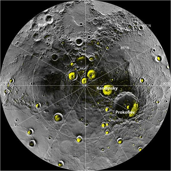Mercury's Water Ice Bodes Well for Alien Life Search