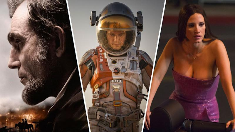 Lincoln, The Martian, Molly's Game.