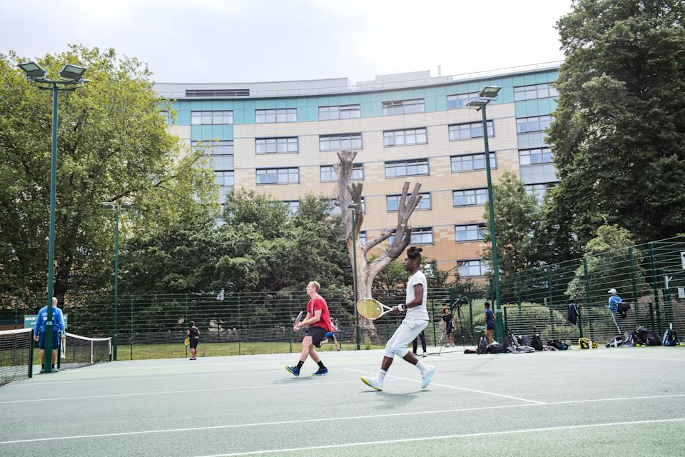 Tennis courts in England can reopen from Monday