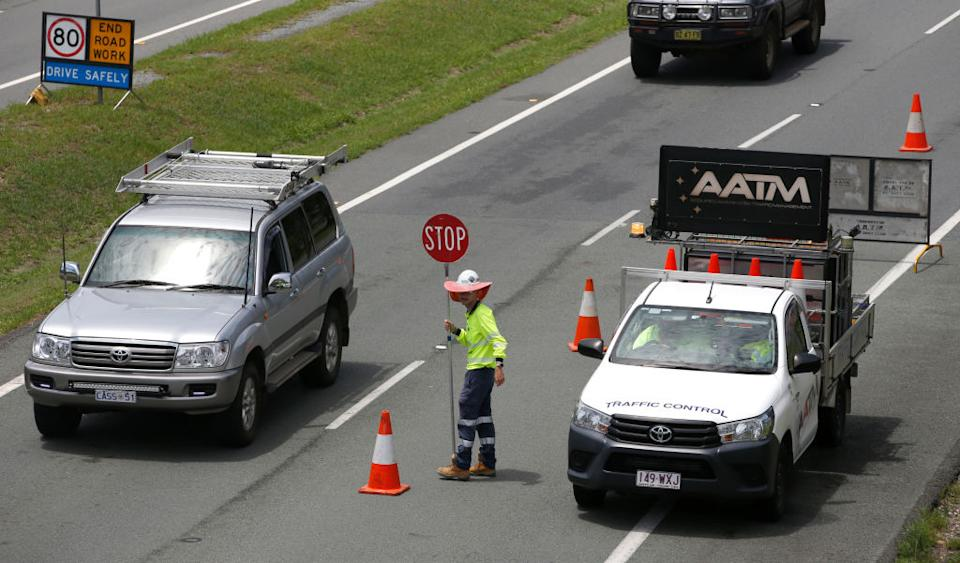 Queensland's lengthy border closure to NSW became a contentious issue last year, with both state's premiers publicly criticising each other's stances. Source: Getty