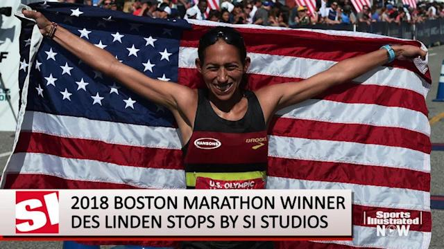 2018 Boston Marathon winner Desiree Linden reflects on her historic win and shares what separates this race from others.
