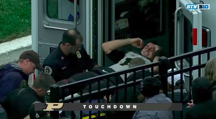 Purdue QB Blough to undergo surgery for dislocated ankle