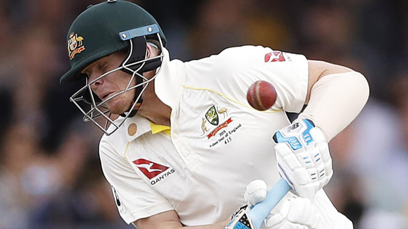 Steve Smith will not play the final day of the second Ashes Test, after complaining of concussion symptoms.