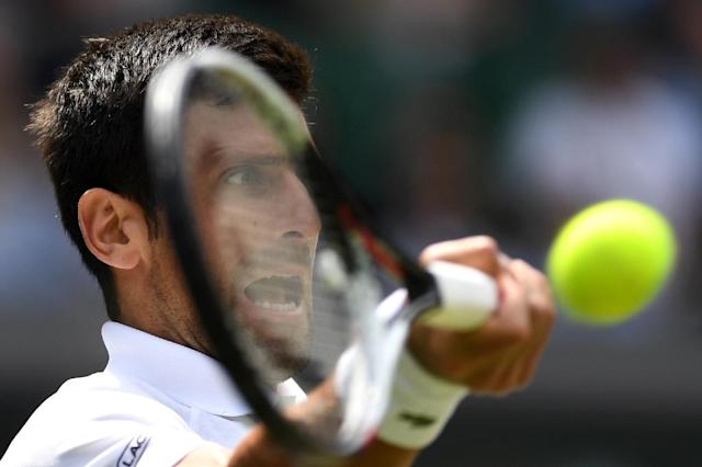 Familiar foes: Novak Djokovic has met Rafael Nadal 51 times (AFP Photo/Glyn KIRK)