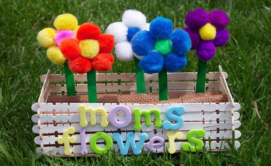 "<p>If Mom loves flowers, fill up a window box for her with bright, beautiful blooms. This project requires a hot glue gun, and some supervision from an adult, but when it's done Mom will be delighted. </p><p><em><a href=""https://www.craftprojectideas.com/moms-flower-box/"" rel=""nofollow noopener"" target=""_blank"" data-ylk=""slk:Get the tutorial at Craft Project Ideas »"" class=""link rapid-noclick-resp"">Get the tutorial at Craft Project Ideas »</a></em></p>"