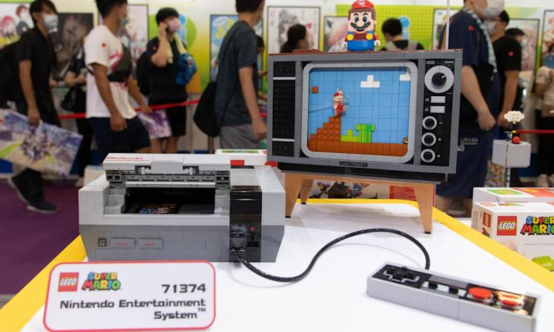Aesthetic thrill … the Lego NES.