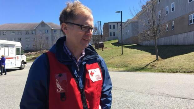 Bill Lawlor is the provincial director for New Brunswick and Prince Edward Island for the Red Cross.