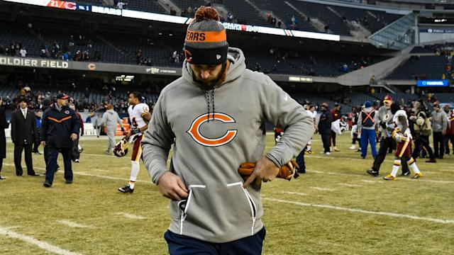 An 11-year veteran, Cutler, who turns 34 Saturday, was released in March by the Bears after eight seasons in Chicago.