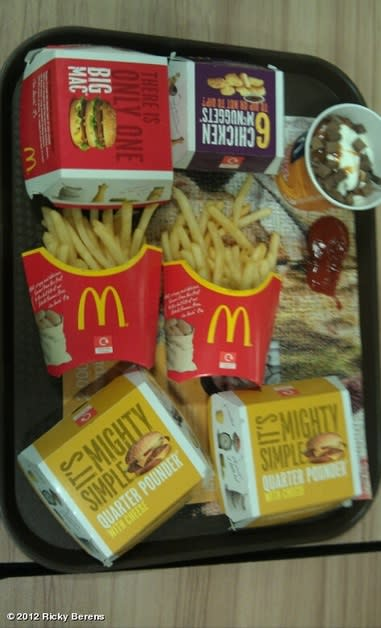 American swimmer gorged at McDonald's in first post ...