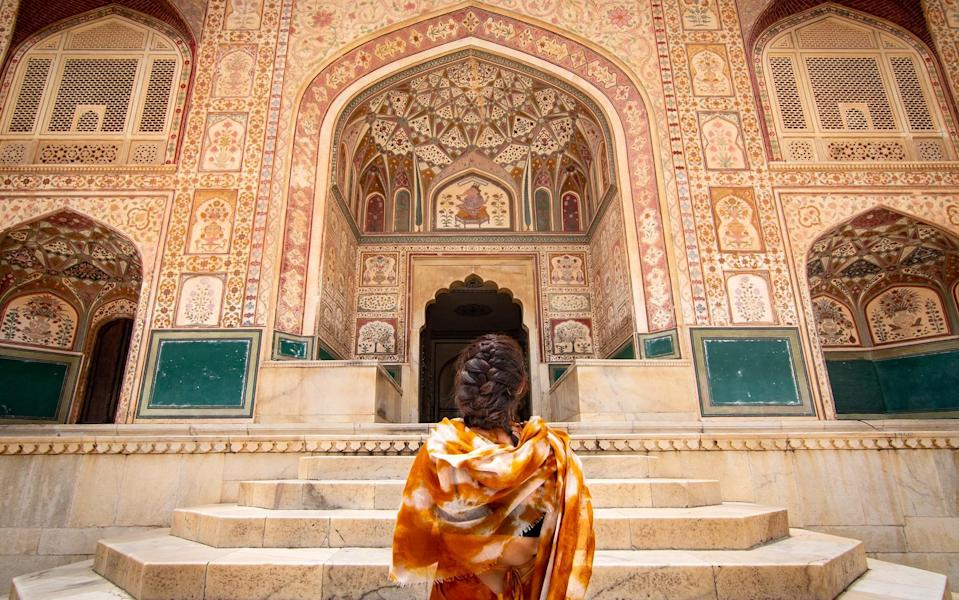 Obediently boxed in our adopted home (no daily walks or bike rides were allowed) for over a month, we emerged to a silent, shell-shocked Jaipur still reeling from the punch - lucie grace