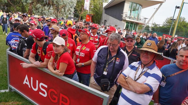 The Australian Formula One Grand Prix in Melbourne has been cancelled