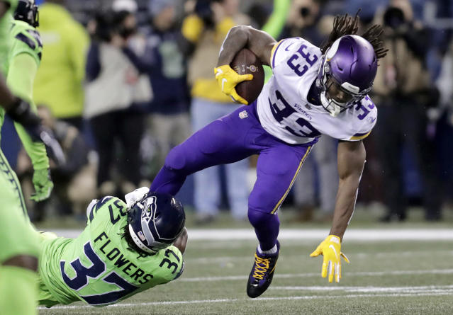 Minnesota Vikings' Dalvin Cook could finally see a big workload after an OC change. (AP Photo/Stephen Brashear)