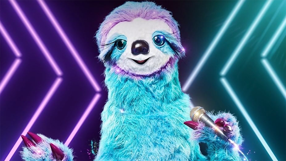 The Sloth on 'The Masked Singer'  (Photo: Channel 10)