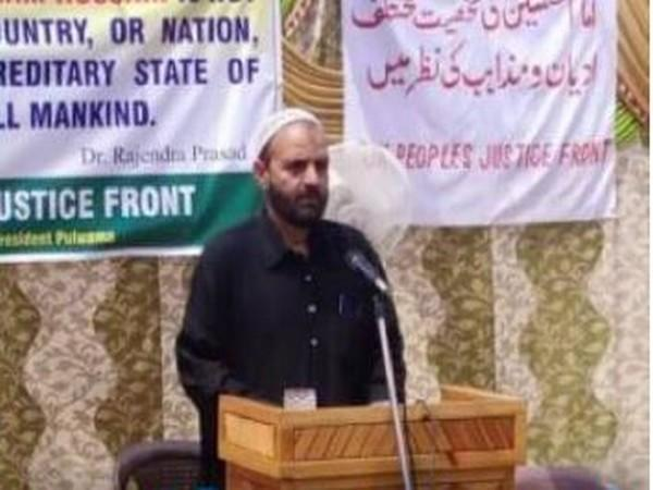 Jammu and Kashmir People's Justice Front (JKPJF) chairmanAgha Syed Abbas Rizvi (File photo)