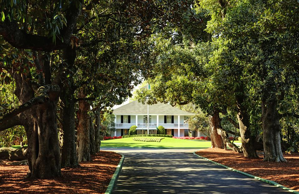 Augusta National once nearly hosted an Olympic event. (Photo by Augusta National/MillerBrown/Getty Images)