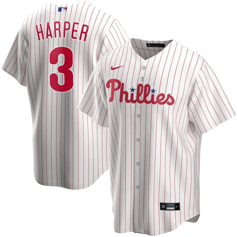Harper Phillies Home 2020 Player Jersey