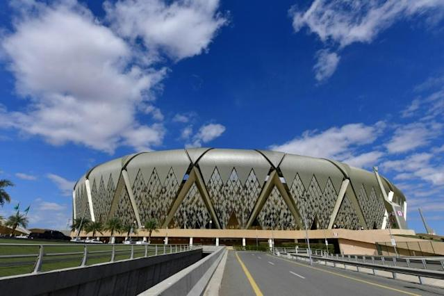The decision to host the Super Cup in Saudi Arabia's King Abdullah Sports City stadium cause controversy in Spain (AFP Photo/Giuseppe CACACE)