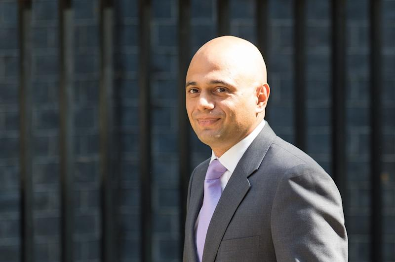 Sajid Javid when he was appointed as Business Secretary by David Cameron in 2015 (PA)
